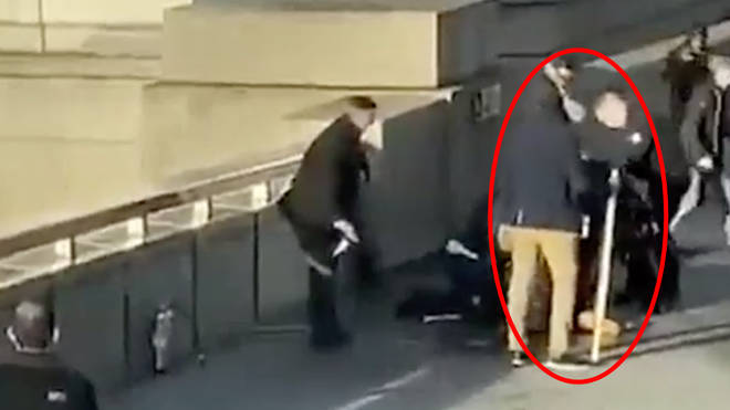 London Bridge hero grabbed 5ft narwhal tusk from wall to confront attacker
