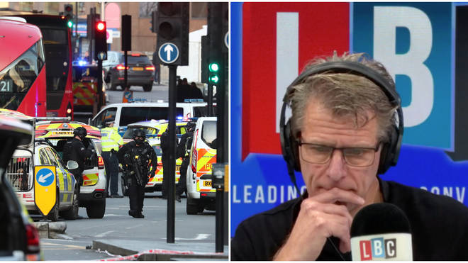 London Bridge: Tearful cabbie urges Londoners not to be frightened