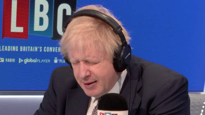 Boris Johnson grilled by a single mother and nurse during LBC phone-in