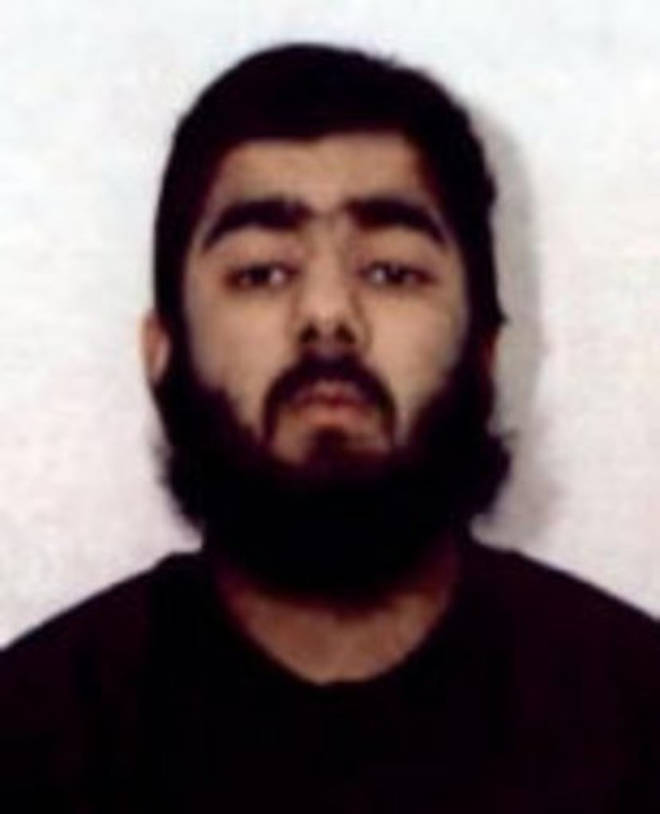 Photo released of London Bridge attacker, Usman Khan, 28