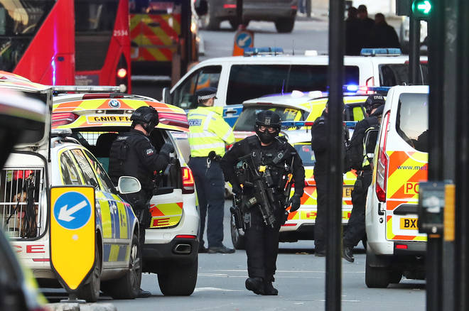 The attacker was shot dead by police on London Bridge