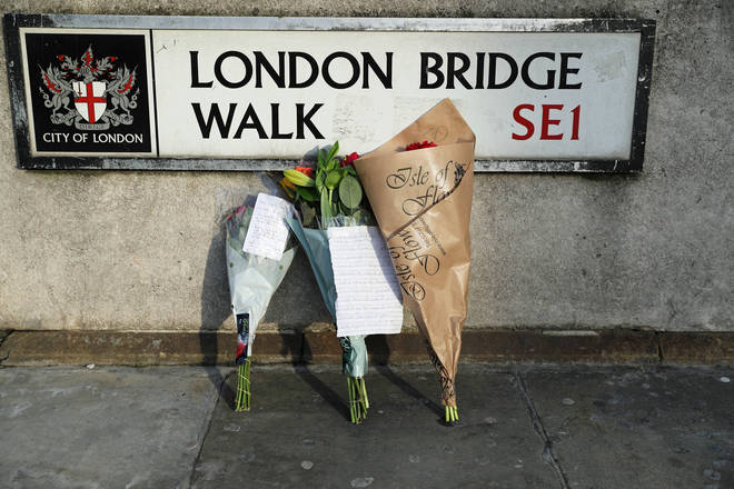 Two people were murdered in the terror attack on London Bridge