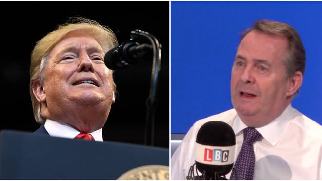 Liam Fox tells Iain Dale what he'd like to say to Donald Trump