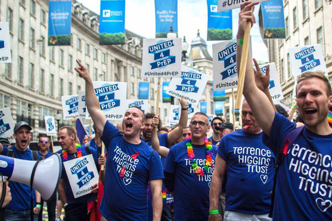 The Terrence Higgins Trust has welcomed the pledged by both parties
