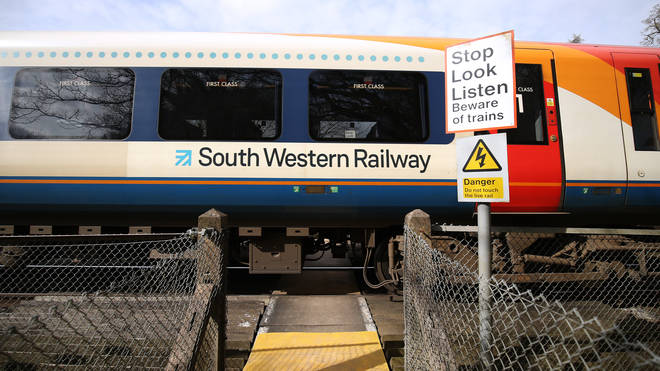 South Western Railway surves much of the commuter belt