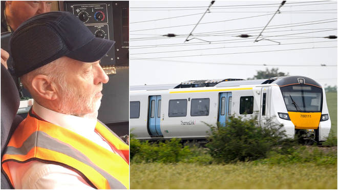 Jeremy Corbyn said trains were his favourite way to travel the country