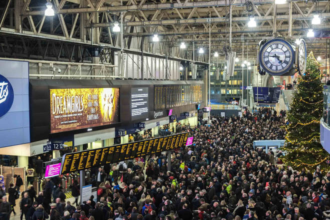 South Western trains are staging 27 days of strikes across December