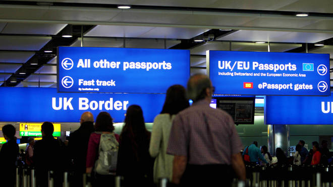 The Conservatives have promised to strengthen the UK border