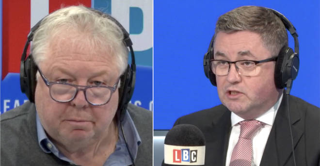 Nick Ferrari spoke to Justice Secretary Robert Buckland