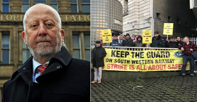 Andy McDonald admitted his frustration at the South Western Railways strike