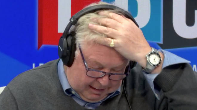 Nick Ferrari couldn't believe what he was hearing from Peter