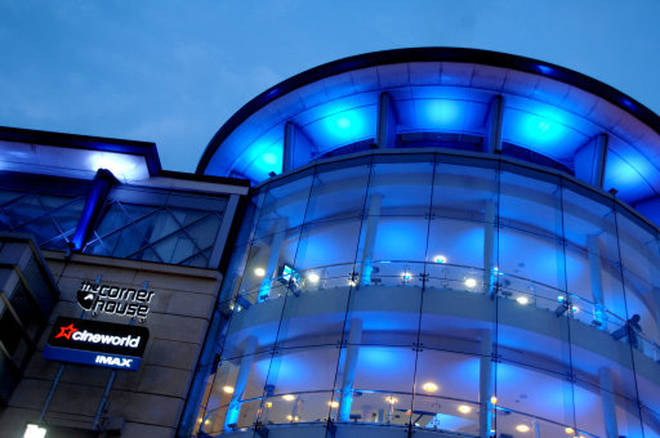 Police were called to Nottingham Cineworld cinema complex on Sunday