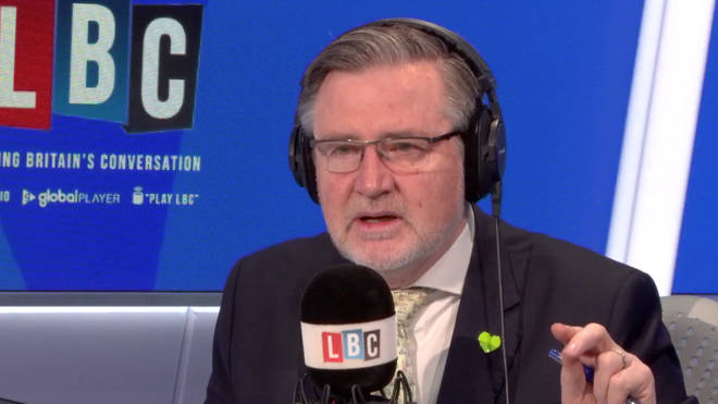 Barry Gardiner faced a very angry Labour supporter live on LBC