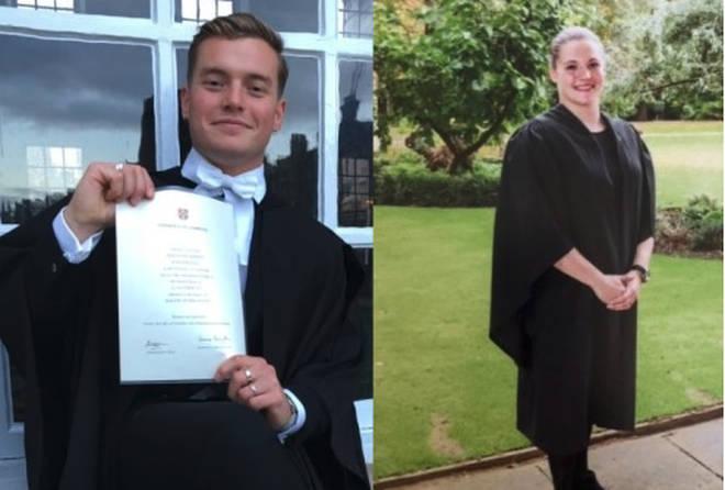 Jack Merritt, 25, and Saskia Jones, 23