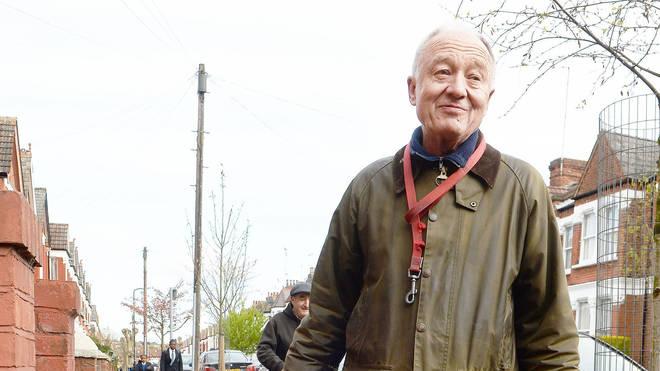 Ken Livingstone was filmed in the tube