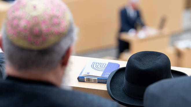 The rabbi was attacked in north London on Friday