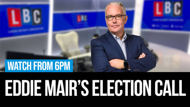 LBC's Election Call: Eddie Mair's Election Call with Faiza Shaheen