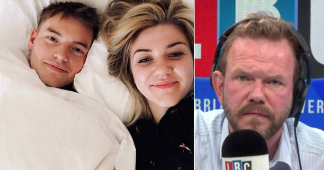 James O'Brien read Hollie's heart-breaking message