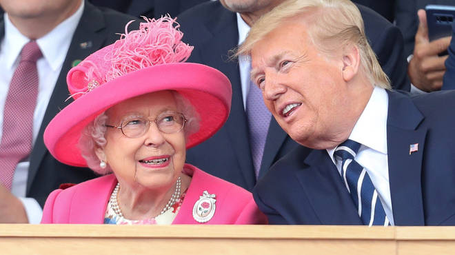 Donald Trump will be meeting the Queen