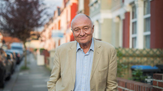 Ken Livingstone was seen arguing with a member of staff