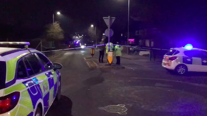 Willingale Road remains closed as police investigate the incident