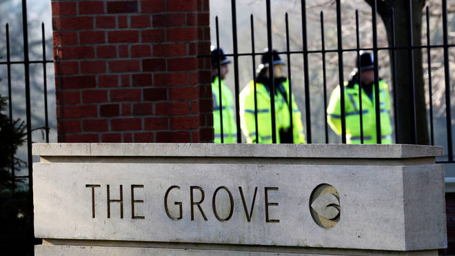 Nato leaders will be meeting at the Grove Hotel, near Watford
