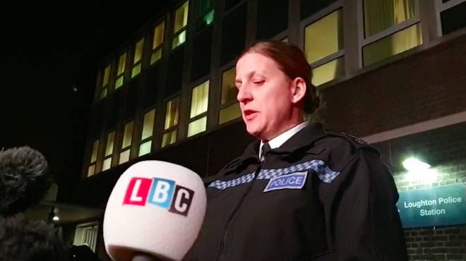 Chief Superintendent Tracey Harman said they were searching for a local man