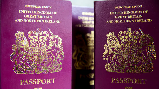 Passports currently only have male and female as options