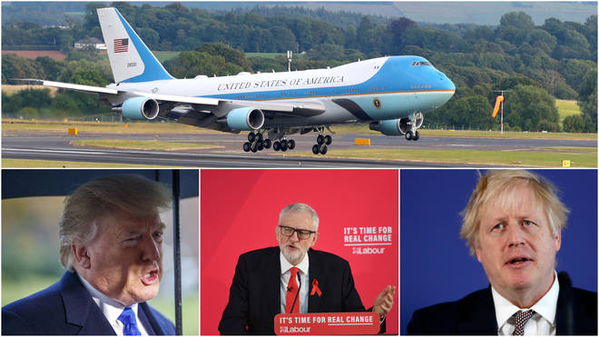 The election battle is heating up as the US President arrives in the UK