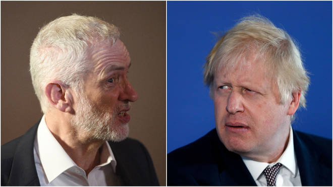 Mr Johnson has hit out at the Labour leader on his record on security matters
