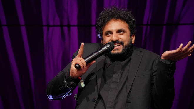 Comedian Nish Kumar did not get the reaction he wanted