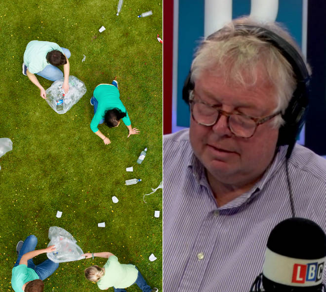 Nick Ferrari spoke to a woman who had done community service