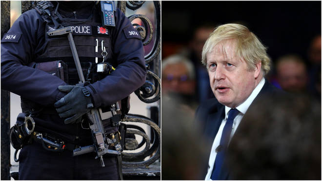 Boris Johnson will try to keep the election focus on security