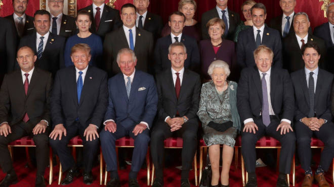 World leaders met with the Queen