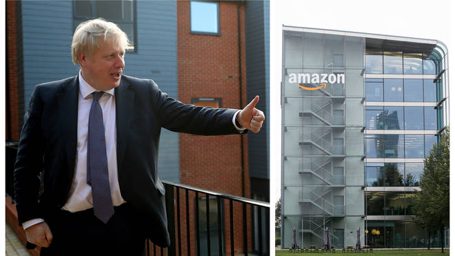 Boris Johnson wants to implement a 'digital services tax' to ensure companies pay their 'fair share'