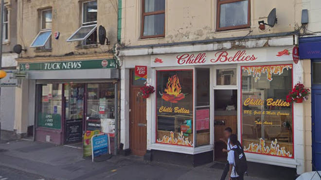The takeaway in Bristol where the owner claims teachers are stopping pupils from visiting