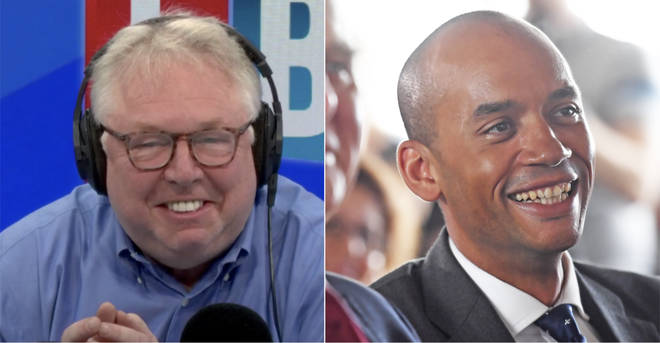 Nick Ferrari left Chuka Umunna in hysterics