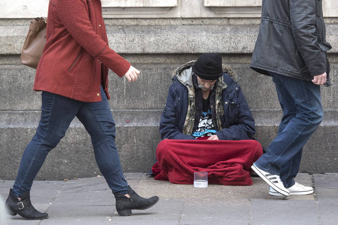 "Labour accused the Tories of being ""directly responsible"" for rough sleepers"