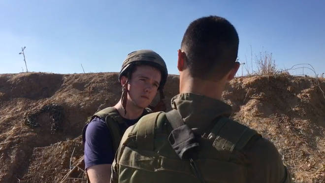 Matthew Thompson spoke to an Israeli Special Forces Soldier
