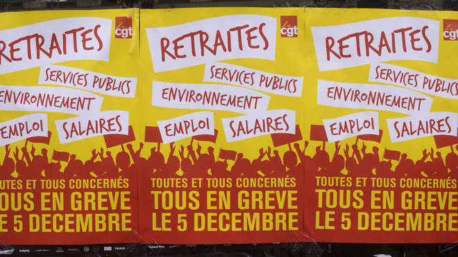 The strike was well advertised across France