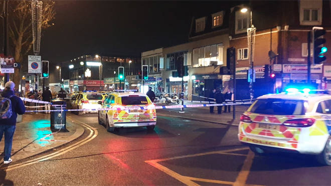 A teenager is critical after being shot at Turnpike Lane in north London