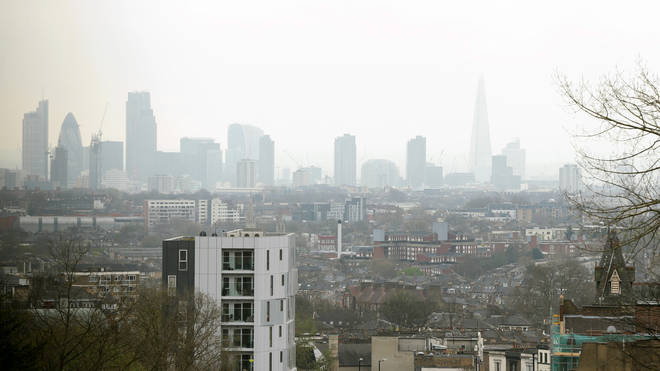 London has some of the most polluted areas in the UK