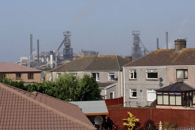 Port Talbot has been found to be one of the most polluted areas of the UK