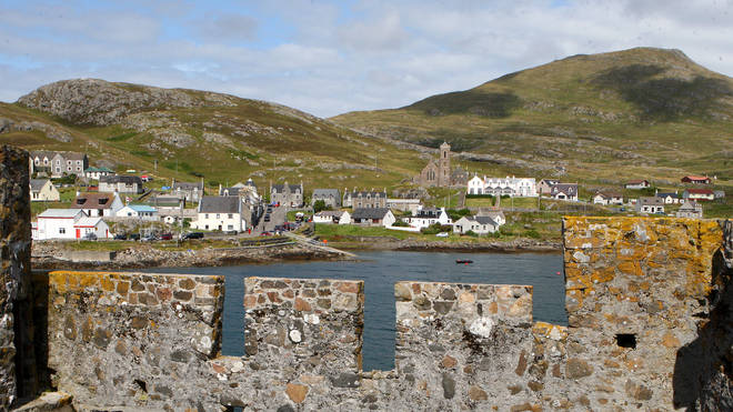 The Isle of Barra in the Outer Hebrides is among the least polluted areas of the UK