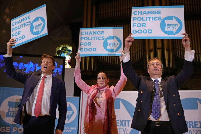 Annunziata Rees-Mogg is one of the Brexit Party MEPs to quit the party