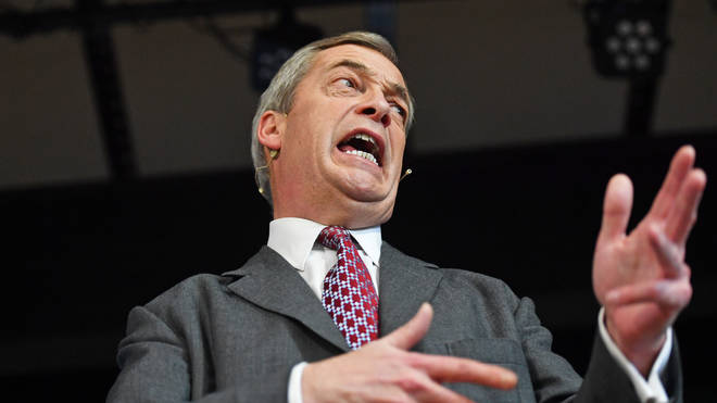 Nigel Farage is set to lose four of his MEPs