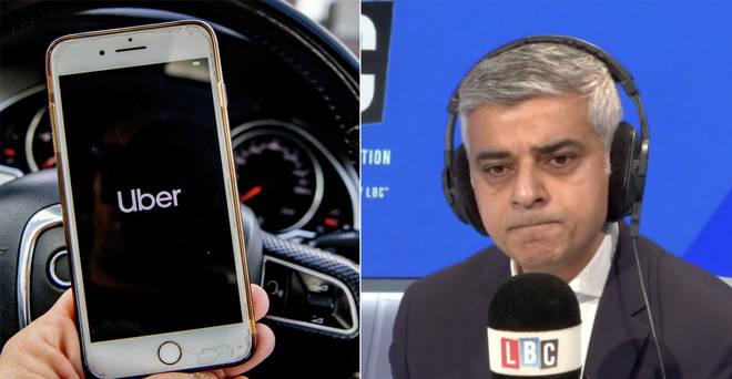 Sadiq Khan revealed the reasons Uber didn't have its licence renewed