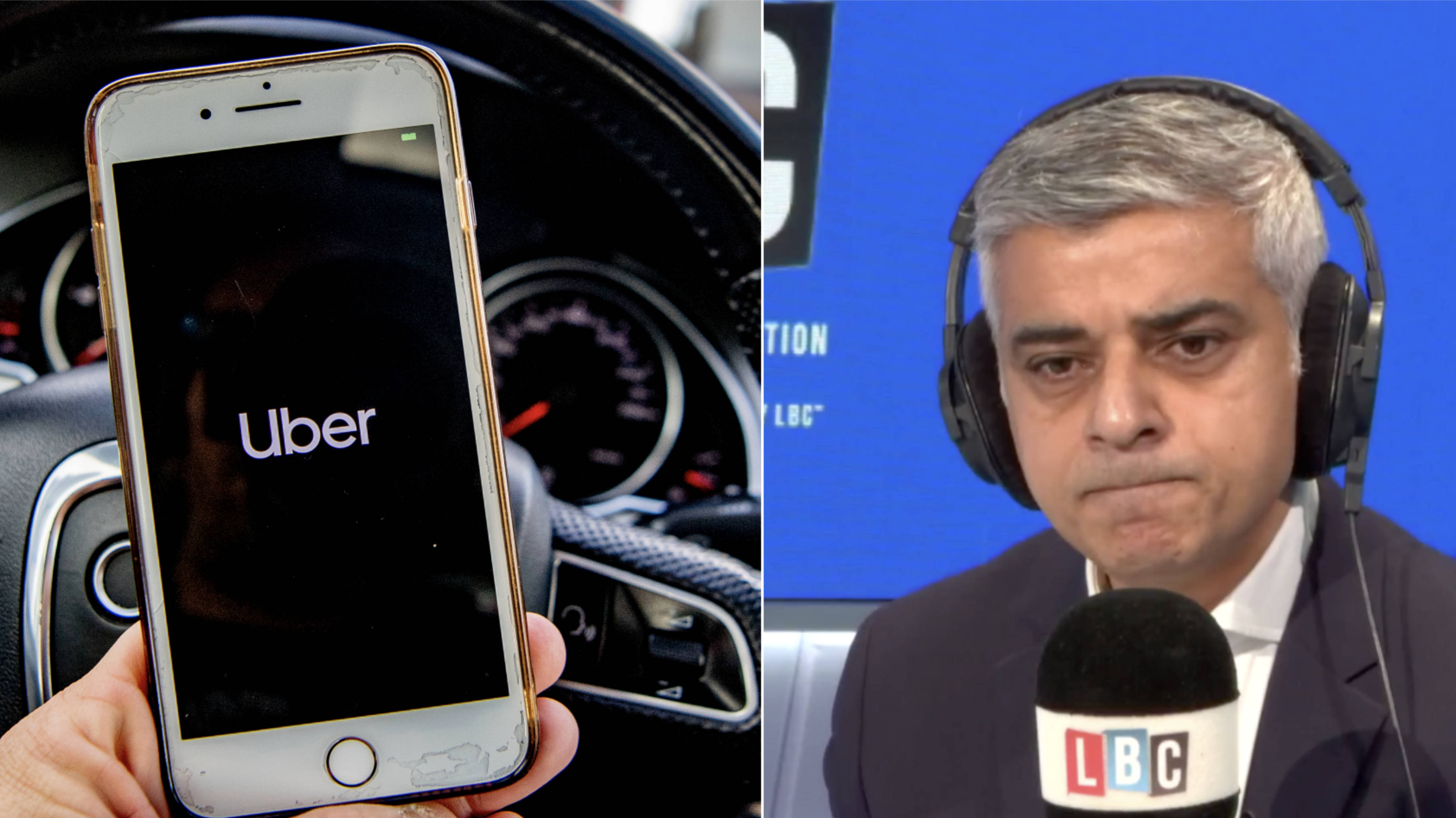 Sadiq Khan reveals shocking reasons behind Uber not having their licence renewed