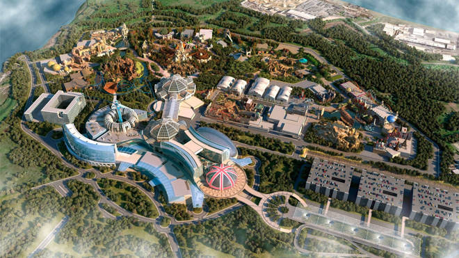 The first pictures of the resort have been released