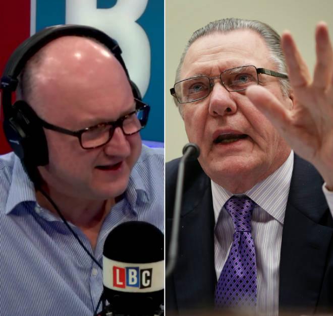 Clive Bull spoke to General Jack Keane